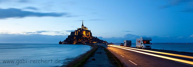 Straße zum St Michel