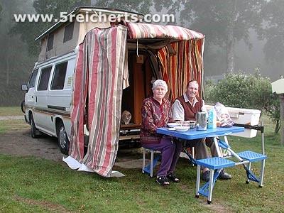 freundliche Camper