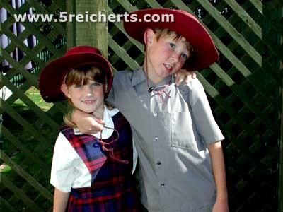 Hannah und Caleb