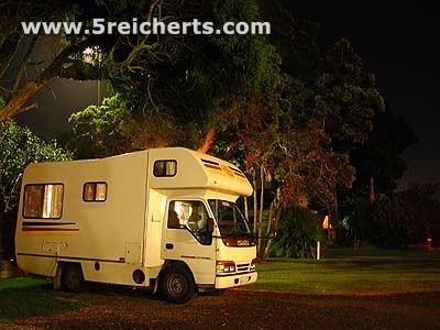 Camper Nachts