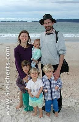 Barbara und David und Kids