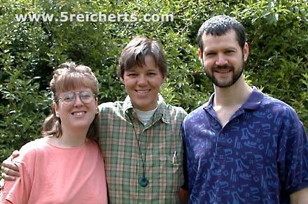 Gabi mit Scott und Beth