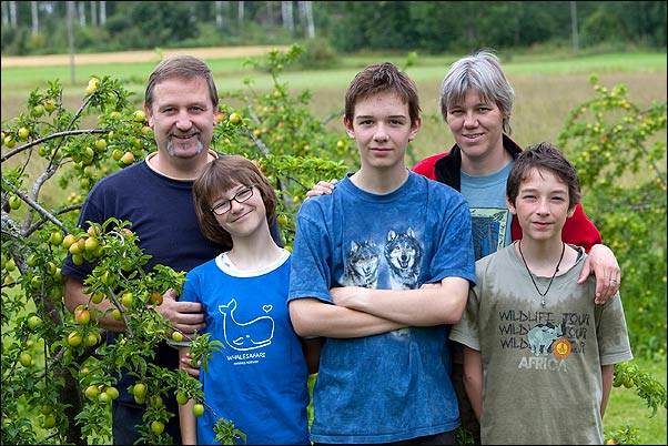 Die 5 Reicherts - Gunter, Amy, Esra, Gabi, Noah