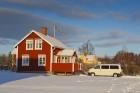 Schneechaos in Schweden