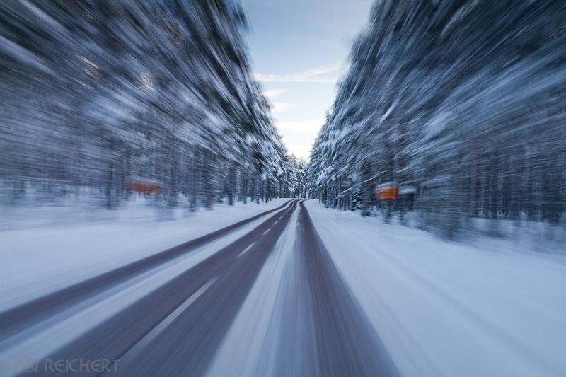 Straße nach Katrinenholm
