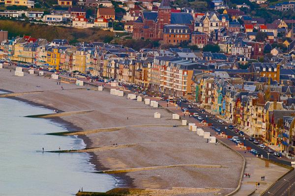 Le Treport, Normandie, Frankreich