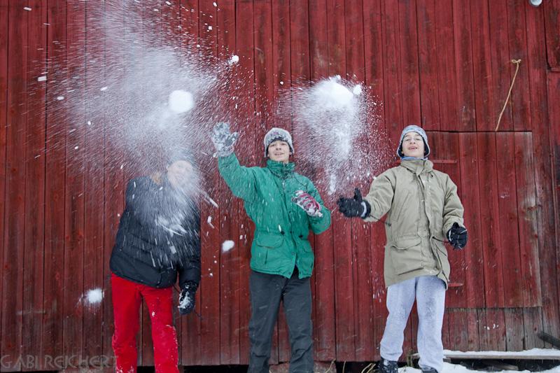 Achtung: Schneebälle