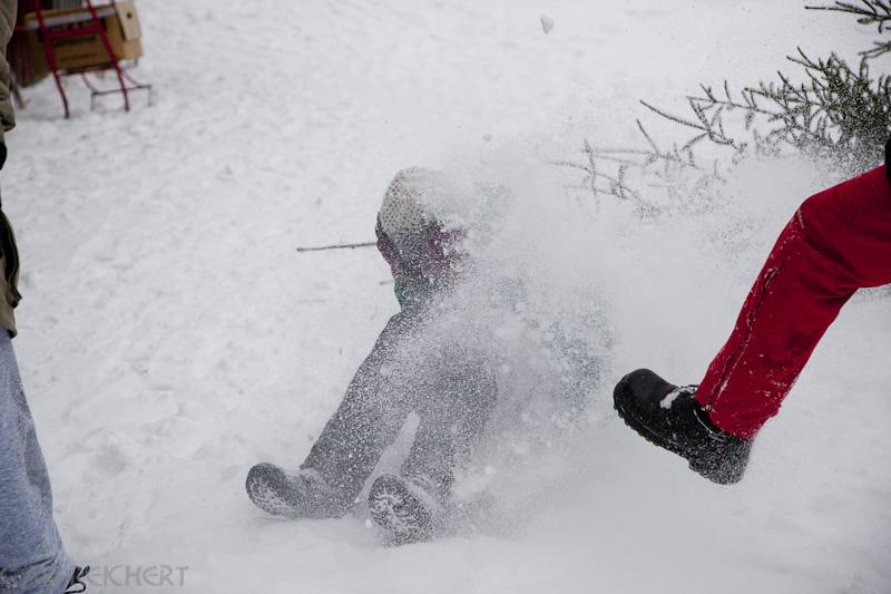 der schwedische Schneetanz