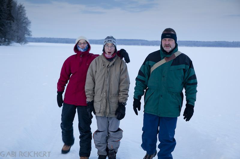 Amy, Noah und Gunter