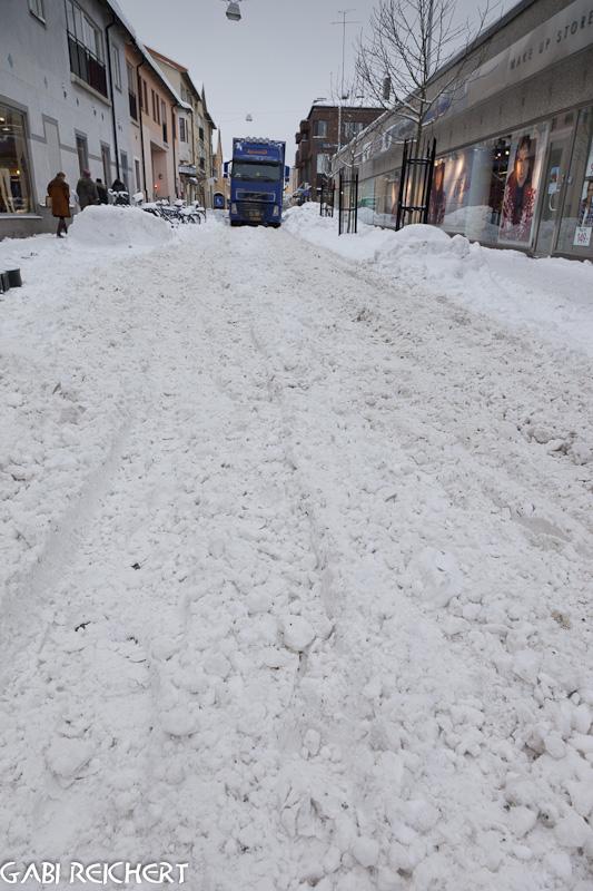 Straße in Nyköping