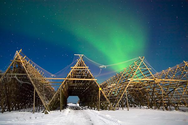 Nordlicht, Aurora Borealis, Vesteralen, Norwegen