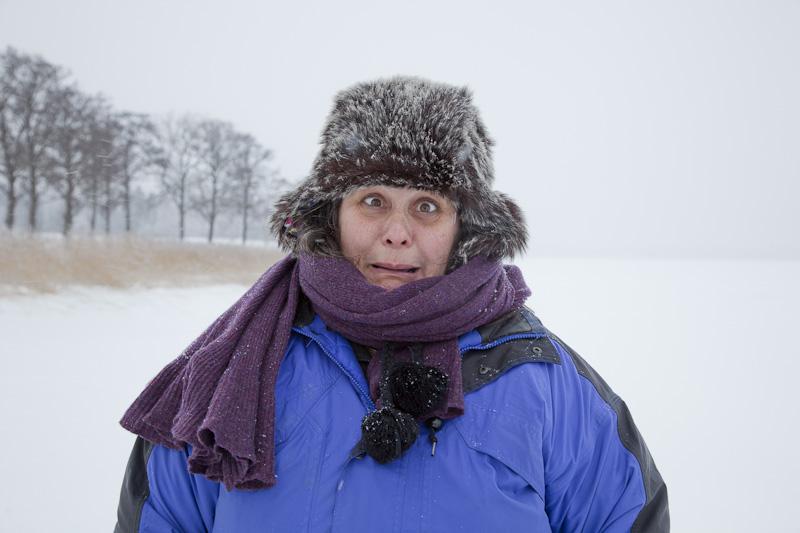 Kälte im Gesicht:-)