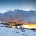 Wilde Wetter auf den Lofoten