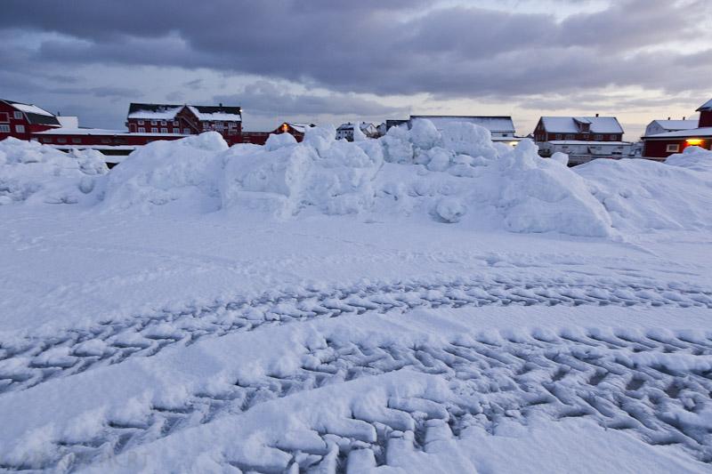 Schneemassen und Rorbuer