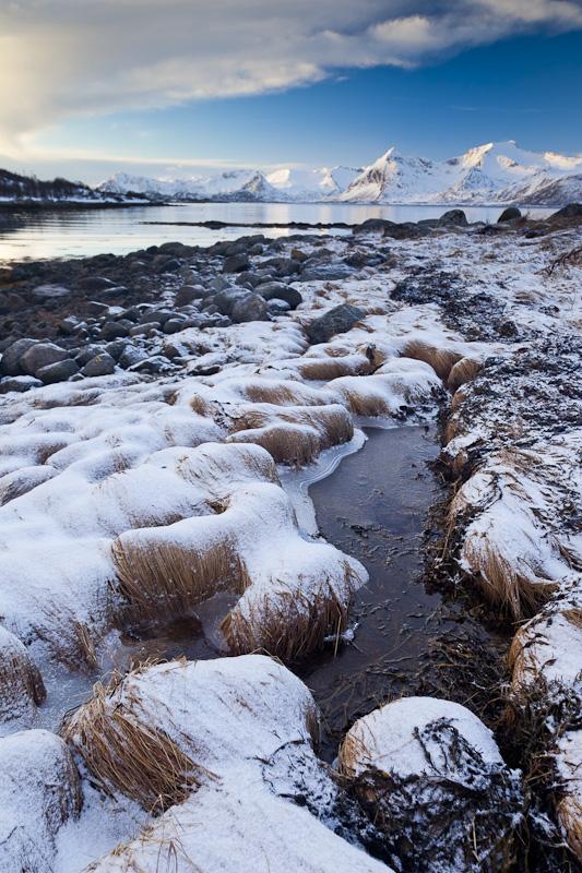 Eis und Schnee mit Fernsicht