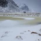 Eggum - Schneeregen und Wind