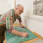 Der Künstler Thor Erdahl in Kabelvåg