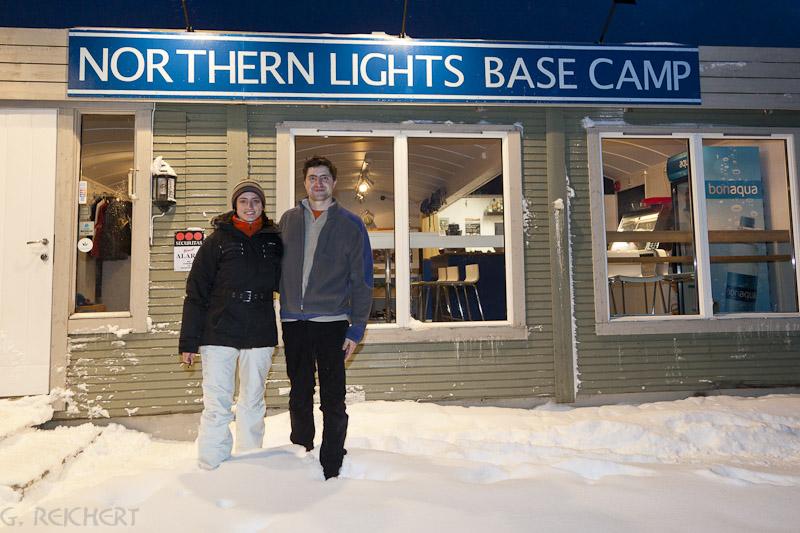 Norther Lights Base Camp