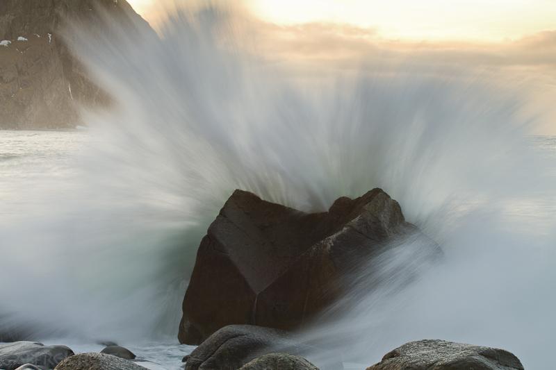 Wellenexplosion