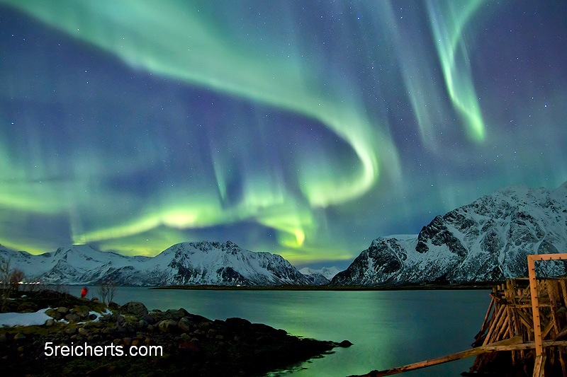 starkes Nordlicht, Lofoten