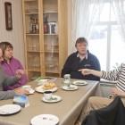 Walkapitän Per Ole Lund und Freunde treffen, Vesteralen im Winter