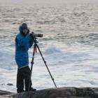 Gabi beim Fotografieren