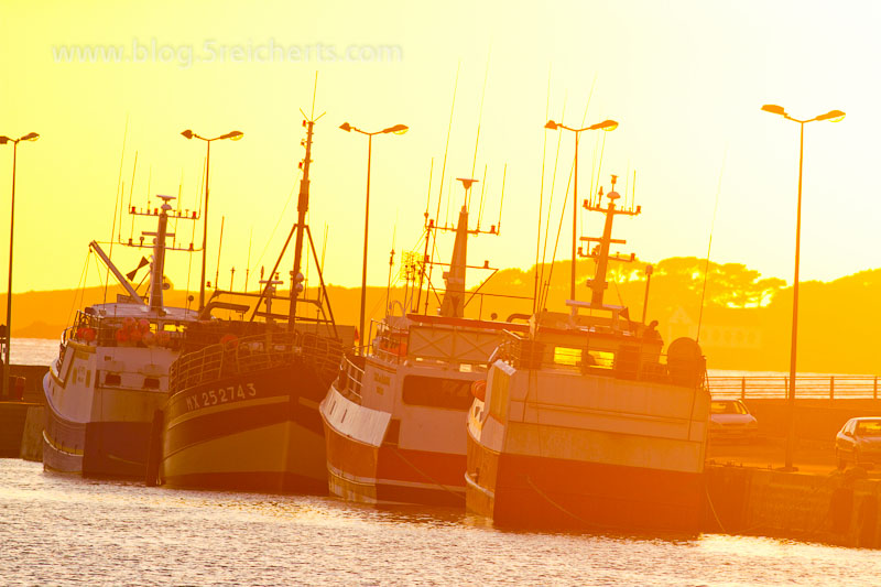 Sonnenuntergang in Roscoff