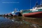 Boote im Hafenbecken