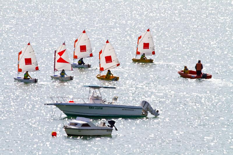 kleine Segelboote