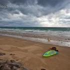 Surfer in Erquy