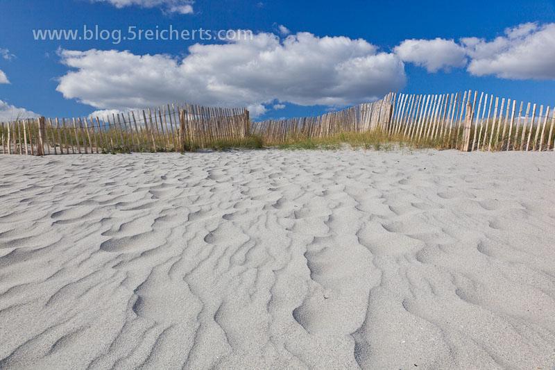 Sand und Wolken