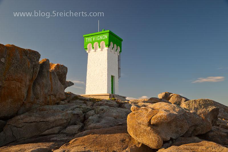 Leuchtturm bei Trevignon