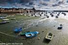 Hafen von Barfleur, Normandie