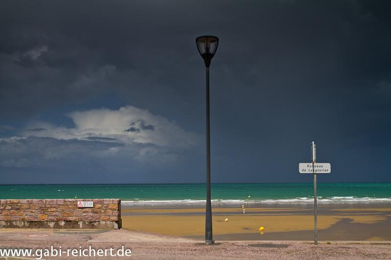 Regen in Erquy