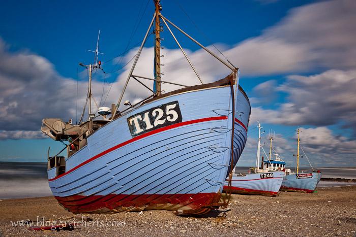 Boot in Vorupor