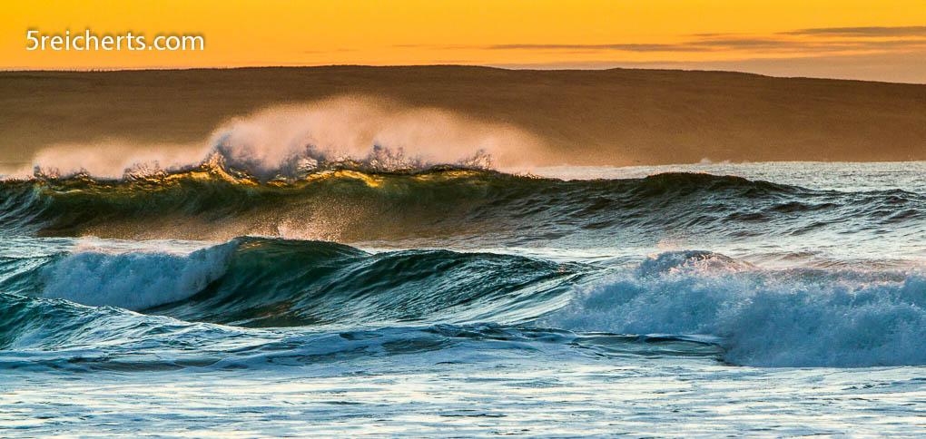 Wellen auf der Isle of Lewis