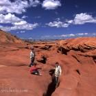 Eingang zum Antelope Canyon