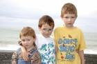 Amy, Noah und Esra in Neuseeland