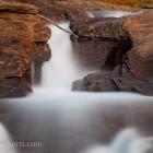 kleiner Wasserfall, Schweden, Langzeit