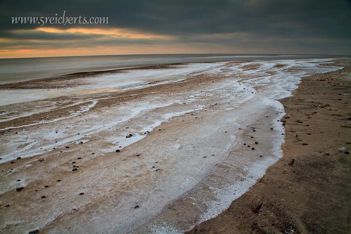 eingefrorene Wellen