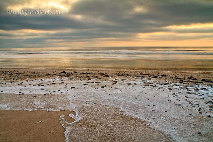 eisiger Strand