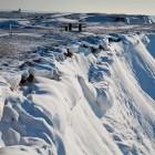 Schnee am Hang, einmal runterrutschen bitte? Besser nicht!