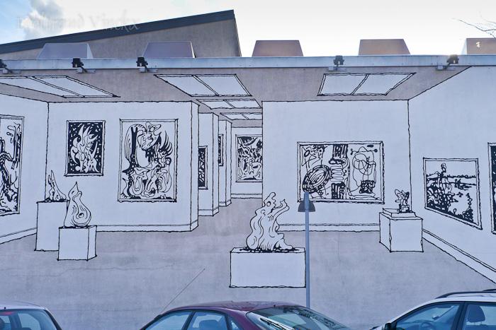 Kunst an der Hauswand
