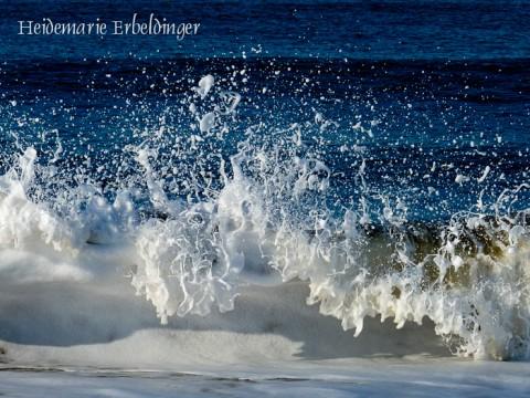 Wellenskulptur