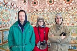 Esra, Amy und Noah im Sneglehuset
