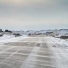 Schnee auf der Straße