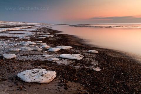 Eis am Strand
