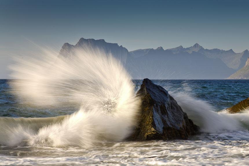 Die perfekte Welle, Myrland, Lofoten