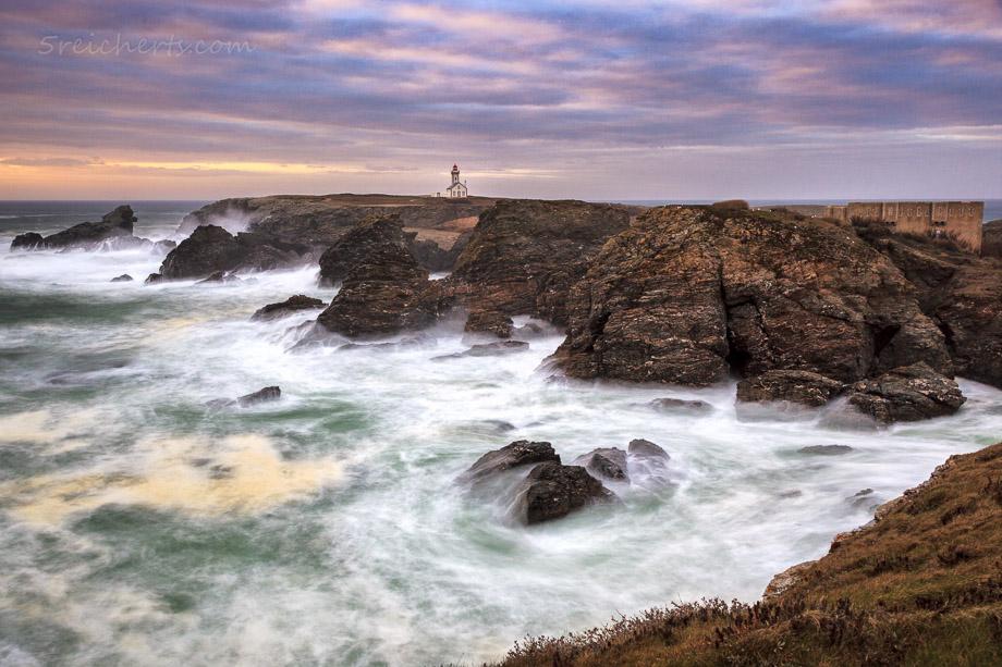 Der Leuchtturm am Pointe de Poulains, Belle Ile