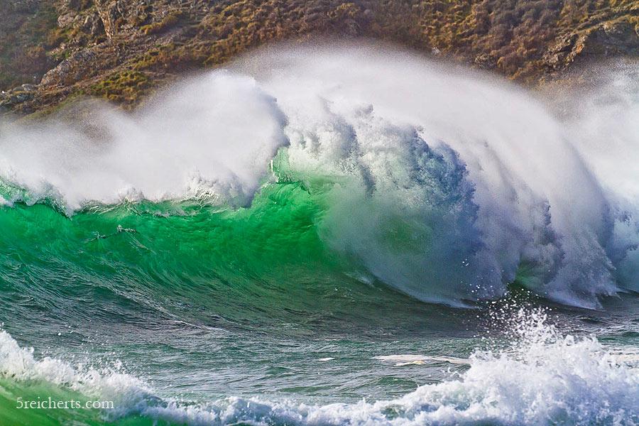durchscheinende Welle